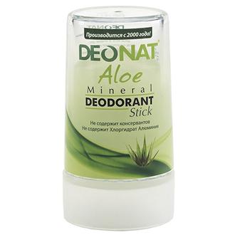 Deonat, Минеральный дезодорант Aloe, 40 г