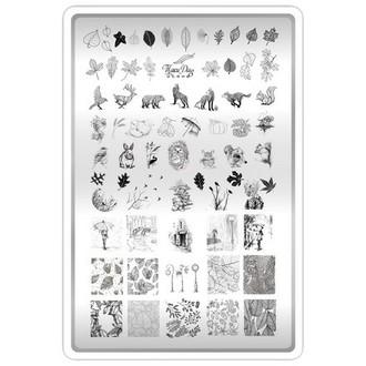 TakiDa, Пластина для стемпинга №08 «Осень»