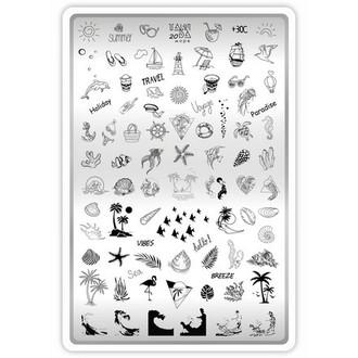 TakiDa, Пластина для стемпинга №20 «Море»