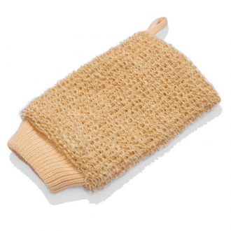 Gloys, Мочалка-рукавица для тела, гибискус коноплевый