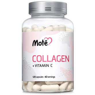 Mote, Коллаген с витамином С, 120 капсул