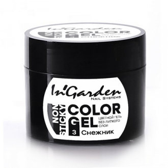 In'Garden, Гель-краска для ногтей №03, Снежник