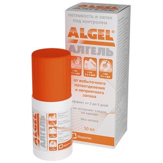 Алгель, Антиперспирант для тела, 50 мл