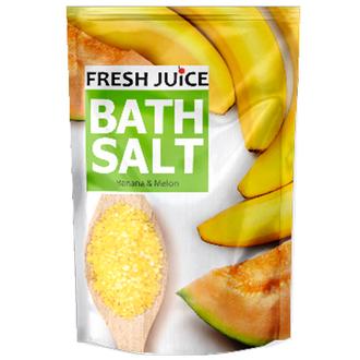 Fresh Juice, Соль для ванн Banana & Melon 500 мл