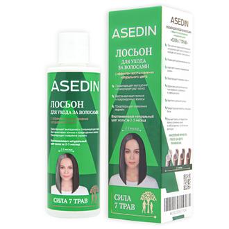 Asedin, Лосьон для волос «Сила 7 трав», 200 мл