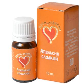 АромаТерапия, Эфирное масло сладкого апельсина, 10 мл