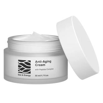 Sea & Energy, Антивозрастной ночной крем для лица, 50 мл