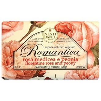 Nesti Dante, Мыло Florentine Rose & Peony, 250 г