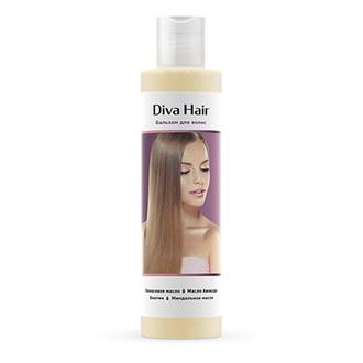 Diva Hair, Бальзам для волос, 200 мл (УЦЕНКА)