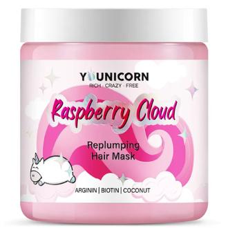 Younicorn, Маска для волос Raspberry Cloud, 250 мл