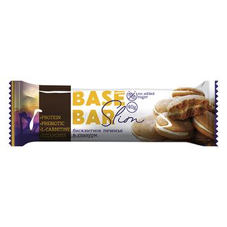 Base Bar, Батончик «Бисквитное печенье в глазури», 40 г