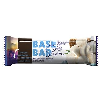 Base Bar, Батончик «Кокосовый десерт в глазури», 40 г