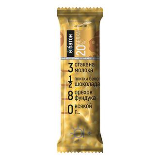 Ебатон, Батончик «Лесной орех» со вкусом печенья, 40 г