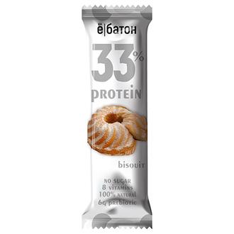 Ебатон, Батончик 33% Protein Bisquit, 45 г