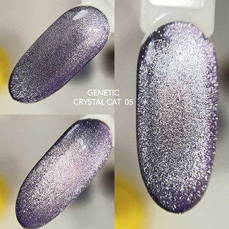 Genetic, Гель-лак Crystal Cat №05