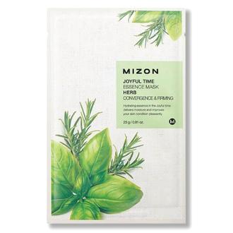 Mizon, Маска для лица Joyful Time Essence Herb, 23 г