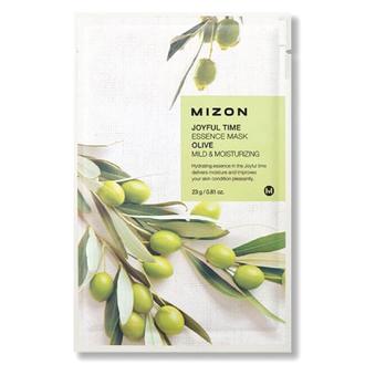 Mizon, Маска для лица Joyful Time Essence Olive, 23 г