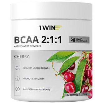 1WIN, Аминокислоты BCAA 2:1:1 «Вишня», 180 г