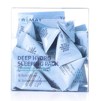 Trimay, Ночная маска для лица Deep Hydro, 20x3 г
