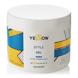 Yellow, Гель для волос Extra Strong, 500 мл (УЦЕНКА)