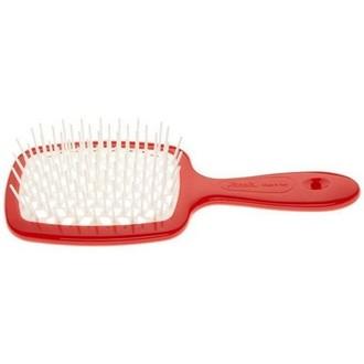 Janeke, Щетка пластиковая для волос, красная