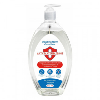 Organic Beauty, Жидкое мыло Sensitive, 500 мл