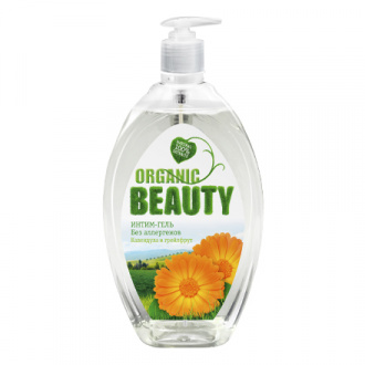 Organic Beauty, Интим-гель «Календула и грейпфрут», 500 мл