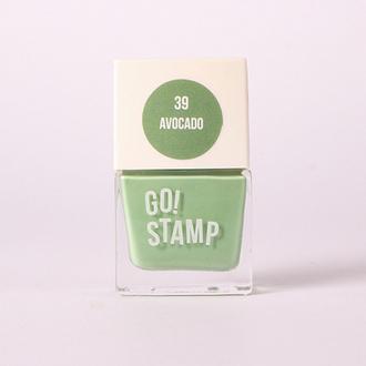 Go!Stamp, Лак для стемпинга №39, Avocado