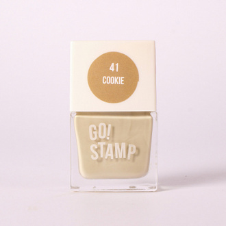 Go!Stamp, Лак для стемпинга №41, Cookie