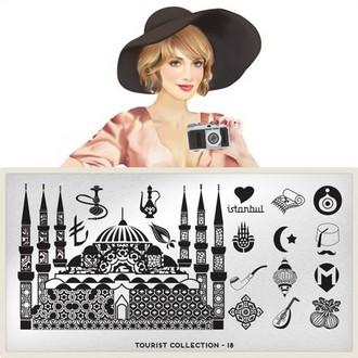 MoYou - London плитка для стемпинга Tourist Collection 18