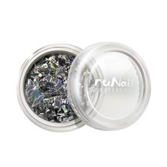 ruNail, дизайн для ногтей: слюда 0336
