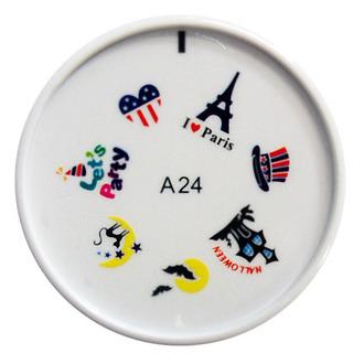 ENAS, штамп для дизайна А24