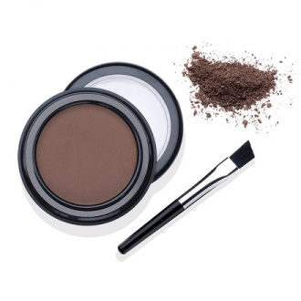 Ardell, Пудра оттеняющая для бровей темно-коричневая, 2,2 г