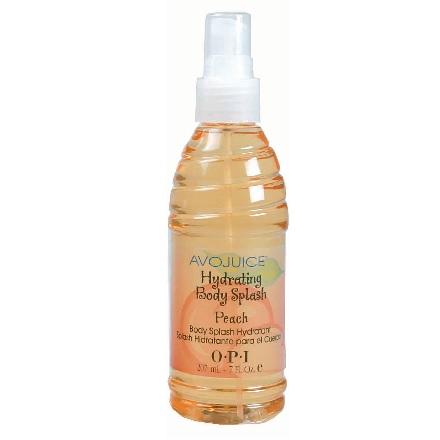 OPI Avojuice Body Splash Peach 207 ml