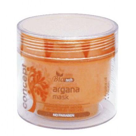 Concept, Маска питательная для волос с аргановым маслом, 250 мл