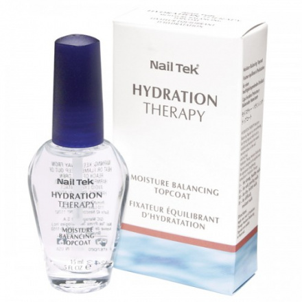 Nail Tek, Топ Hydration Therapy Moisture Balancing Top Coat, 15 мл