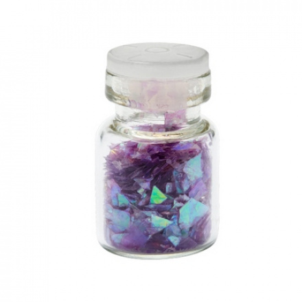 IRISK, Декор Осколки стекла, фиолетовый