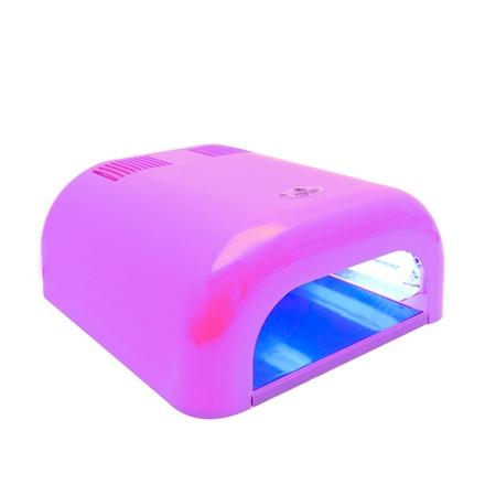 Planet Nails, Лампа UV Tunnel Econom, 36W, светло-розовая (электронная)