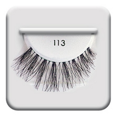 Salon Perfect, Strip lash black, Ресницы черные № 113