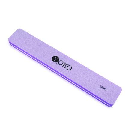 Yoko, Пилка-блок  Y SBF 006, фиолетовая, 80/80