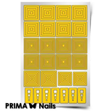 Prima Nails, Трафареты «Квадраты»