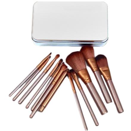 TNL, Набор кистей для макияжа в металлической упаковке