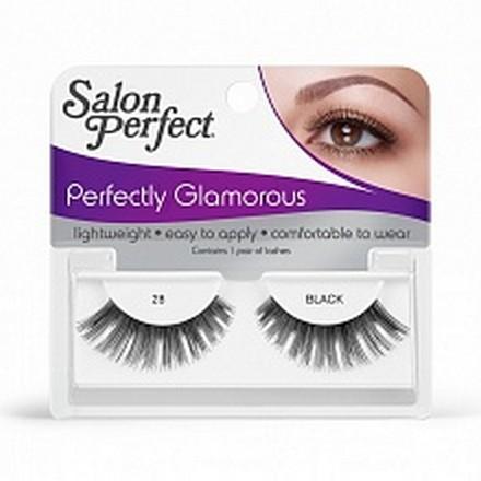 Salon Perfect, Strip lash black, Ресницы черные № 28