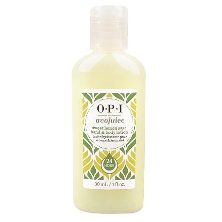 "OPI Avojuice, Лосьон для рук ""Лимон"", 30 мл"