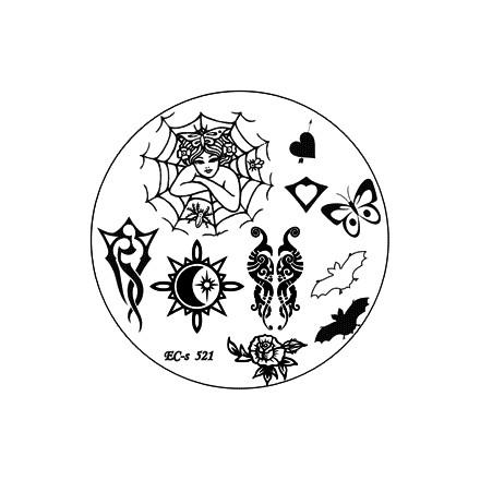 El Corazon, диск для стемпинга № EC-s 521