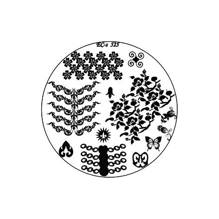 El Corazon, диск для стемпинга № EC-s 525