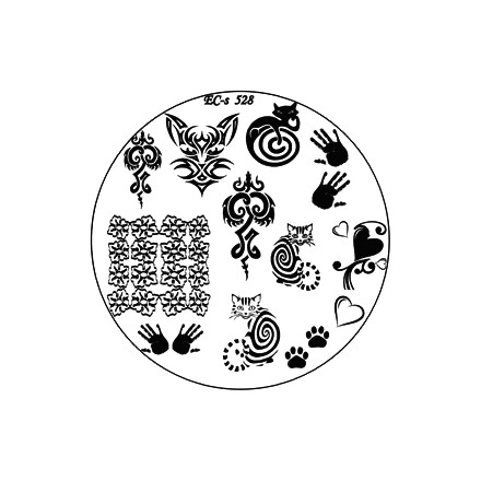 El Corazon, диск для стемпинга № EC-s 528