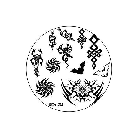 El Corazon, диск для стемпинга № EC-s 531