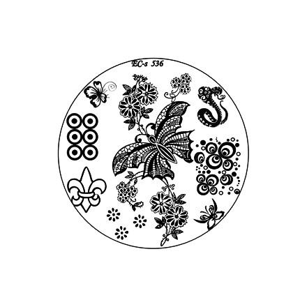 El Corazon, диск для стемпинга № EC-s 536