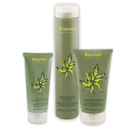 Kapous, Набор для восстановления волос с маслом Иланг-Иланг